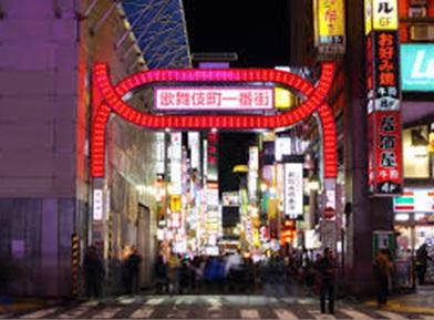 風俗求人のメッカの歌舞伎町